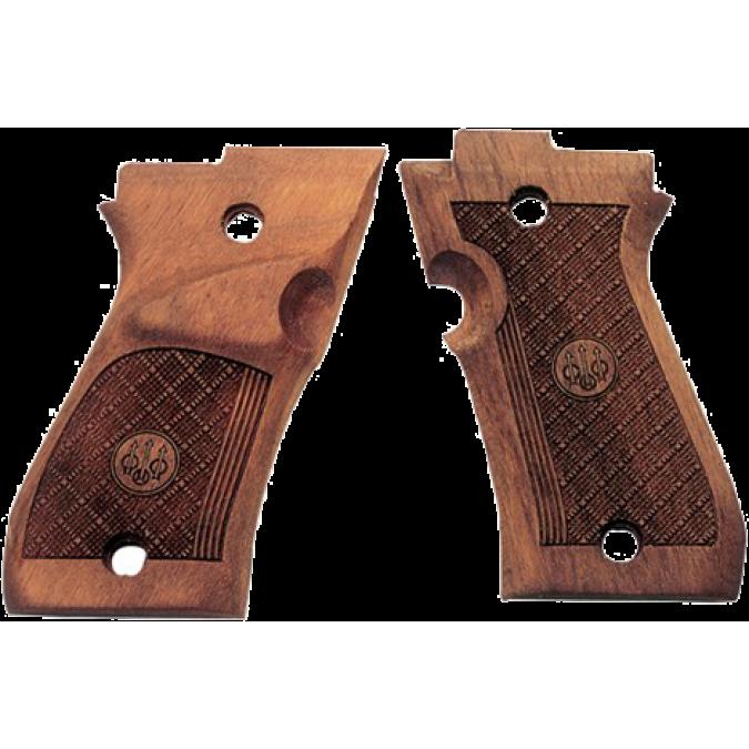 Beretta 87 Target Wood Grips
